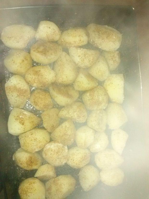 Zapiekane ziemniaki w ziołach