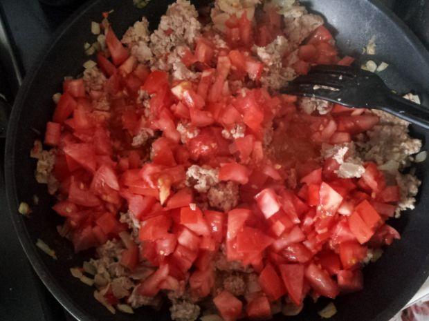 Zapiekanka mięsna z bakłażanem