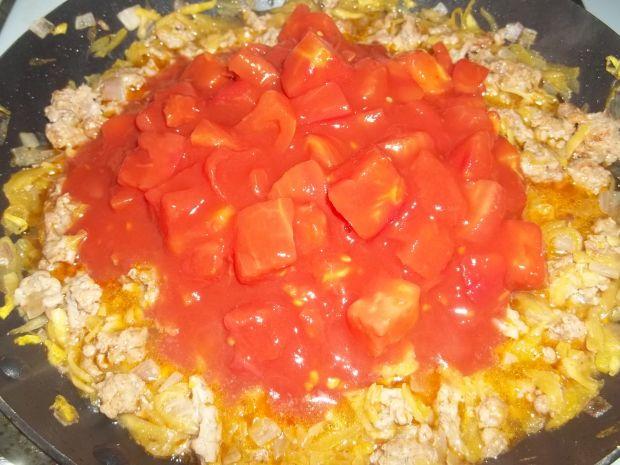 Zapiekanka mięsno - ziemniaczana