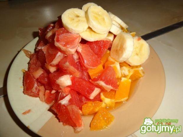Zapiekanka owocowa