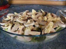Zapiekanka ryżowa z hiszpańskim salami