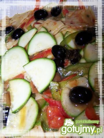 Zapiekanka warzywna z makaronem 2