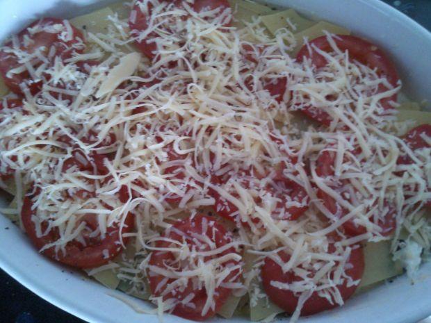 Zapiekanka z dorszem a'la lasagne
