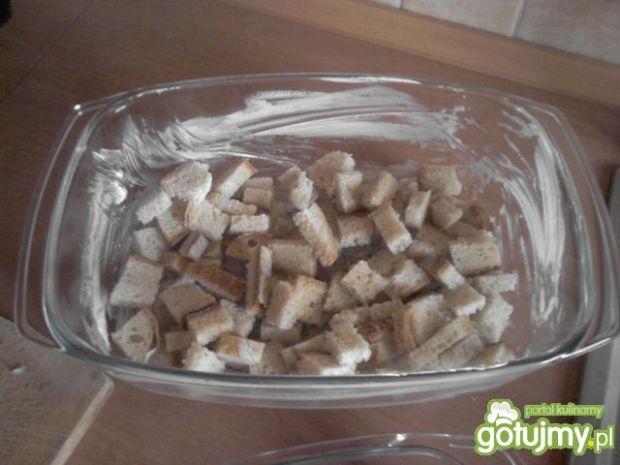Zapiekanka z kapusty kiszonej i kaszanki