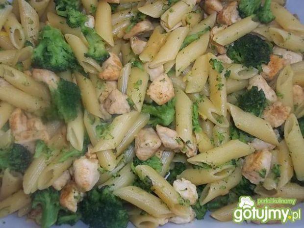 Zapiekanka z kurczakiem i brokułami