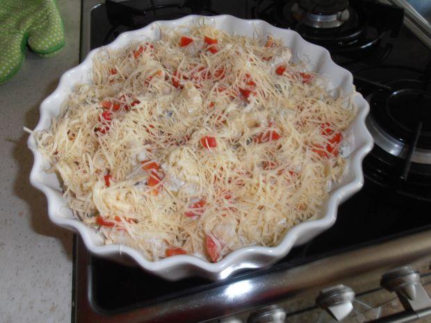 Zapiekanka z makaronu i tuńczyka