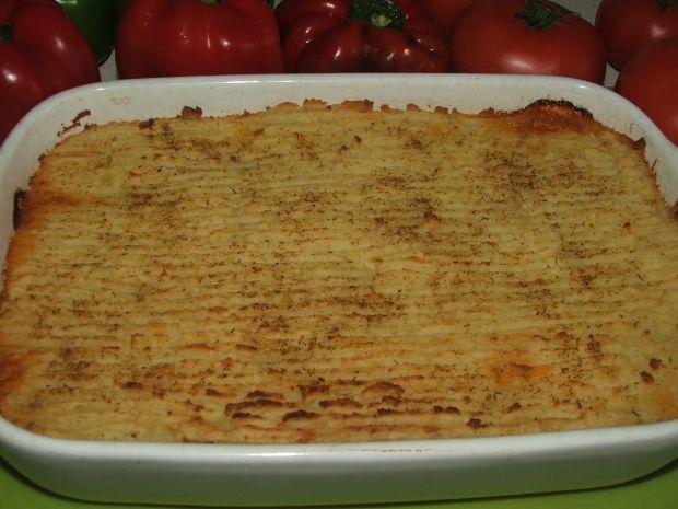 Zapiekanka z puree ziemniczanym i mielonym mięsem