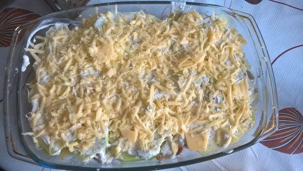 Zapiekanka z ziemniaków i kalarepy