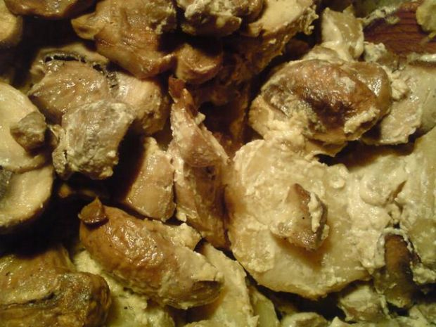 Zapiekanka z ziemniaków i pieczarek