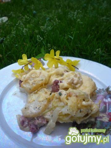 Zapiekanka ziemniaczana z mięsem mielony