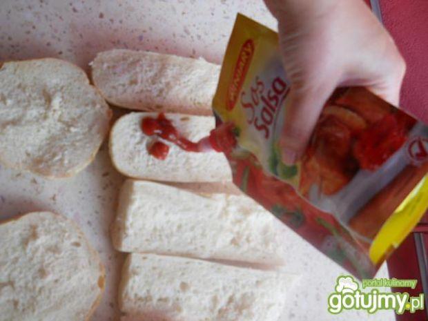Zapiekanki z pomidorkami koktajlowymi