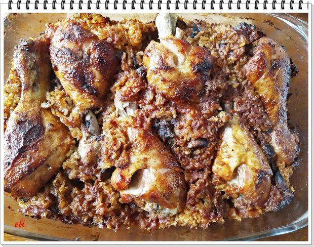 Zapiekany kurczak Eli z ryżem