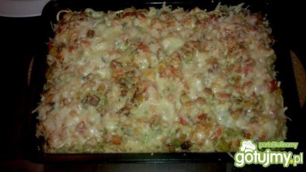 Zapiekany makaron z brokułami ala gino