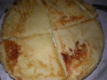 Zapiekne naleśniki z serem