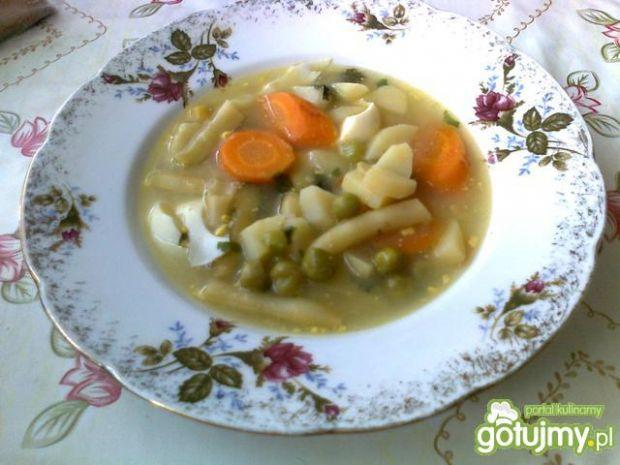 Zasmażana zupa jarzynowa 2