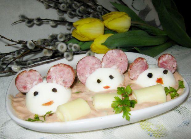 Zatopione w sosie faszerowane myszki