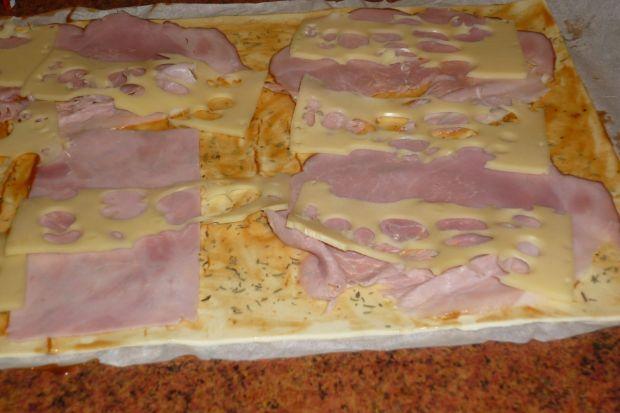 Zawijaski francuskie z szynką i serem