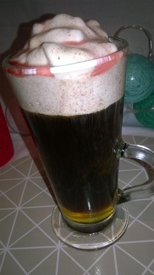 Zdrowa inka miodowo -cynamonowa z sokiem z malin