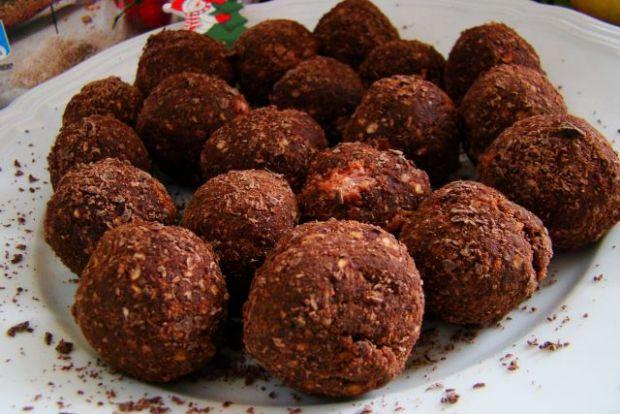 Zdrowe czekoladowe pralinki