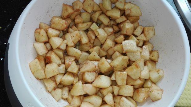 Zdrowy jabłecznik owsiany z robaczywych jabłek