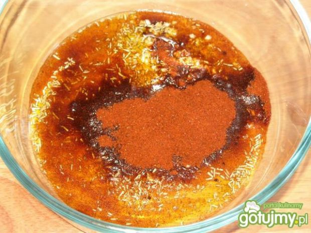 Żeberka w miodzie z papryka i rozmarynem