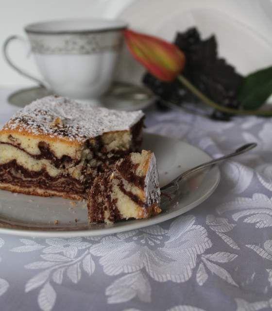 Zebra- proste, ale pyszne ciasto