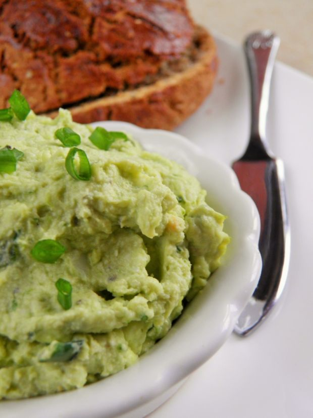 Zielona pasta jajeczna
