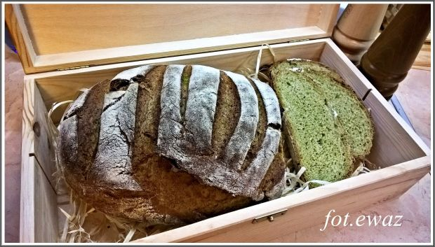 Zielony chleb Shrek
