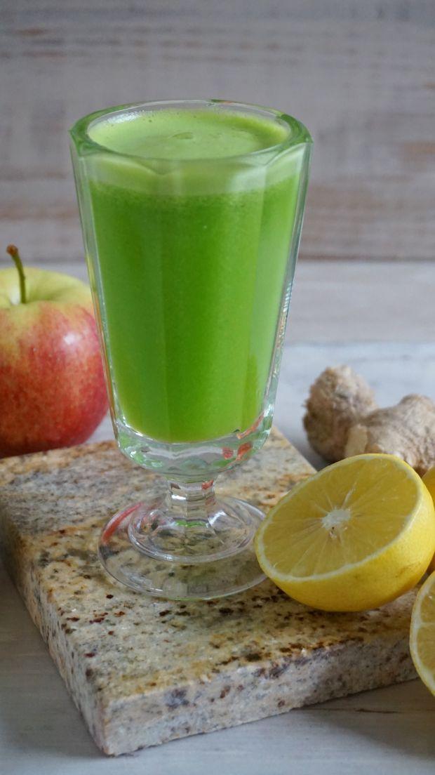 Zielony sok jabłkowo-ogórkowy