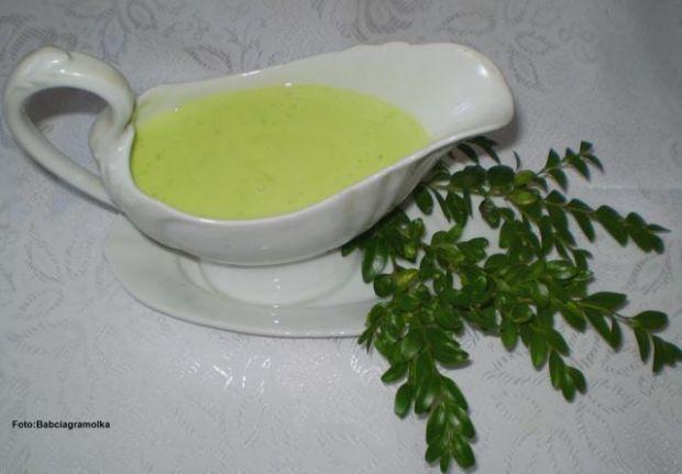 Zielony sos chrzanowy do jajek i mięs