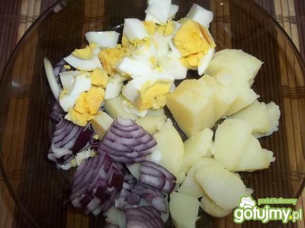 Ziemniaczana sałatka z sosem