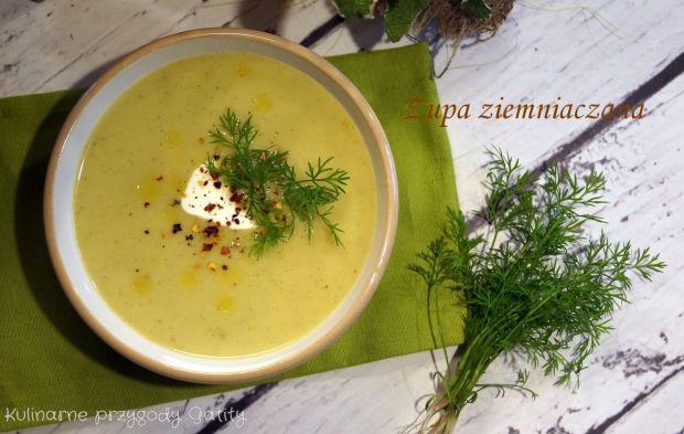 Ziemniaczana zupa krem z brokułami