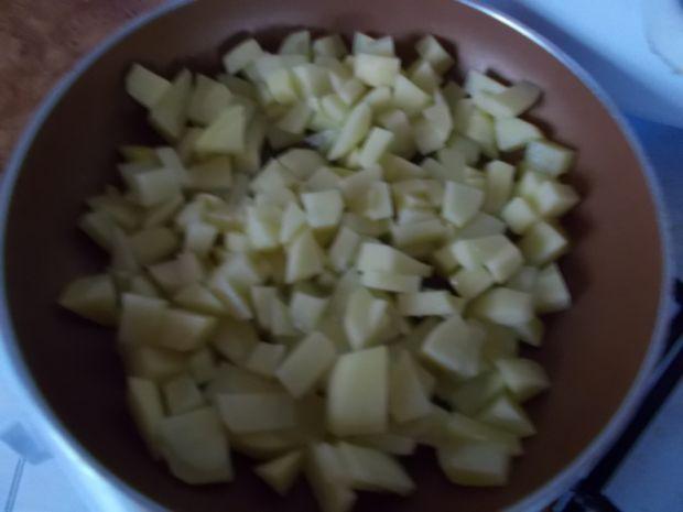 Ziemniaczany krem z polędwiczkami