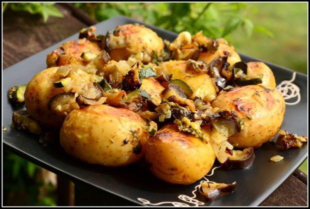 Ziemniaczki grillowane z warzywami