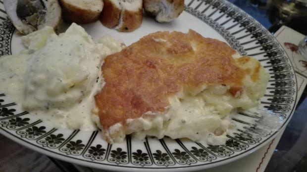 Ziemniaki Dauphinoise - zapiekanka