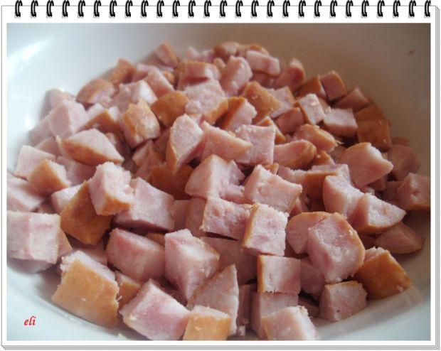Ziemniaki Eli faszerowane papryką i kiełbasą
