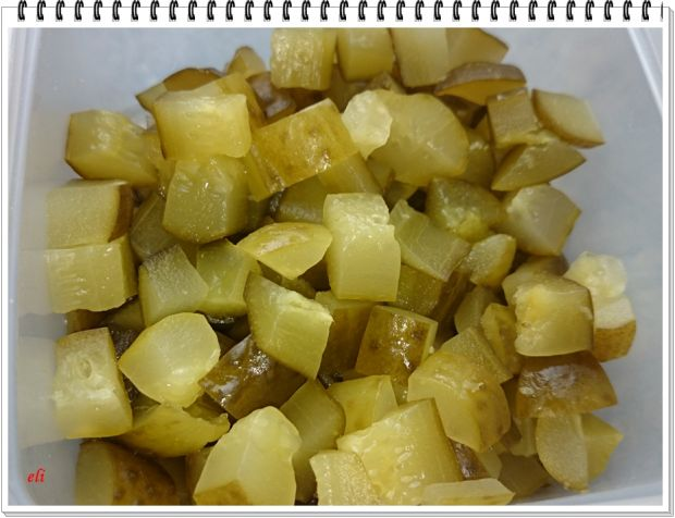 Ziemniaki Eli faszerowane śledziem