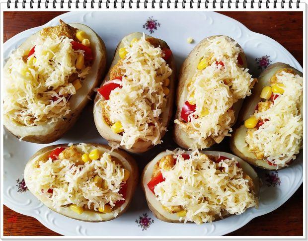Ziemniaki Eli z kurczakiem i kukurydzą