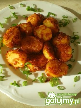 Ziemniaki  na czerwono
