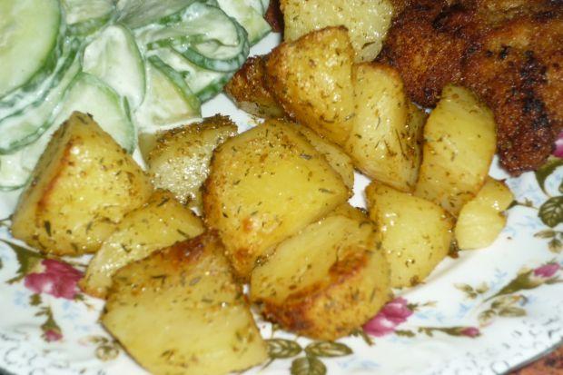Ziemniaki pieczone w przyprawach i tymianku