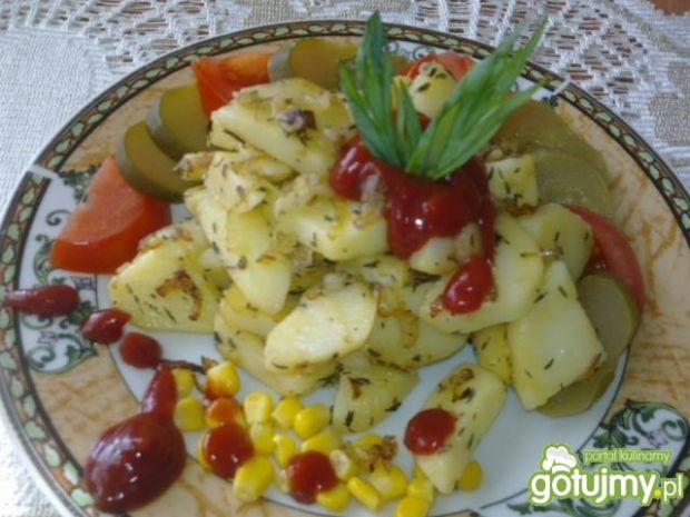 Ziemniaki podsmażane z cebulką