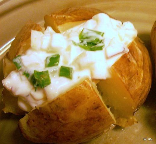 Ziemniaki z folii