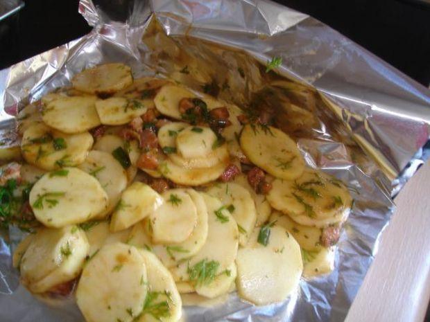 Ziemniaki z grila.