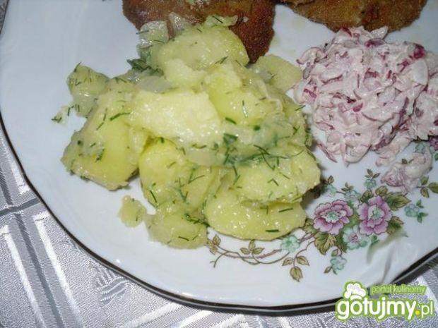 Ziemniaki z koprem