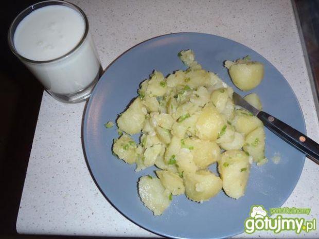 Ziemniaki z maślanką
