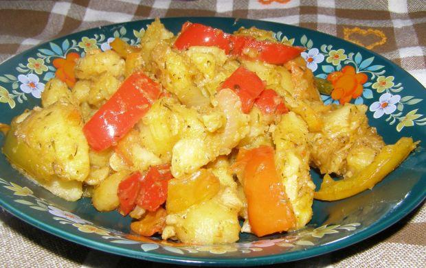 Ziemniaki z paprykami