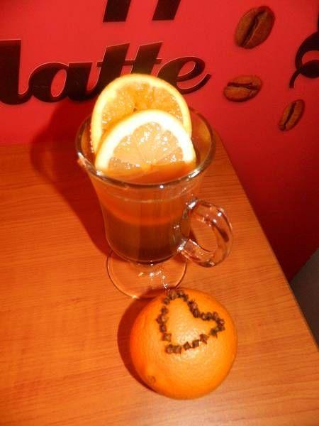 Zimowa, cytrusowa herbata