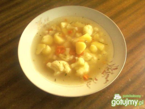 Zimowa zupa warzywna :)
