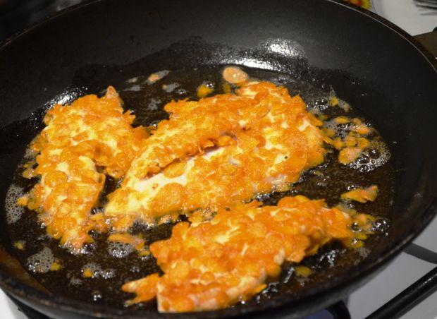 Złocisty i chrupiący filet