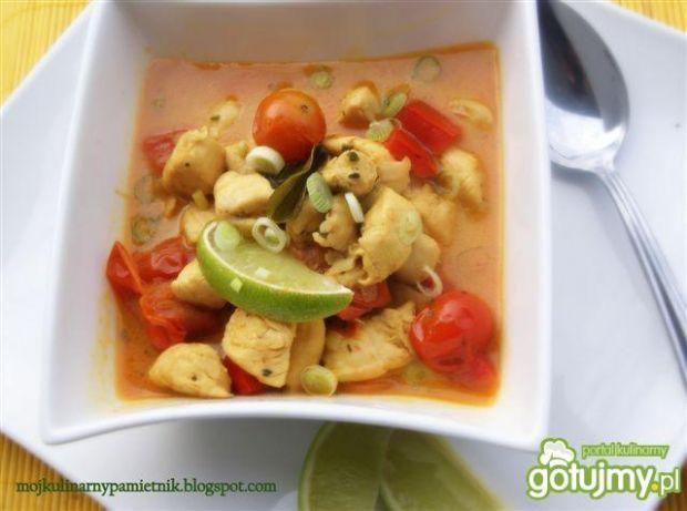 Żółte curry z kurczaka